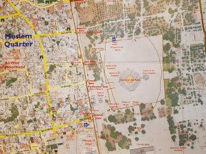 מפת העיר העתיקה של עמי מיטב